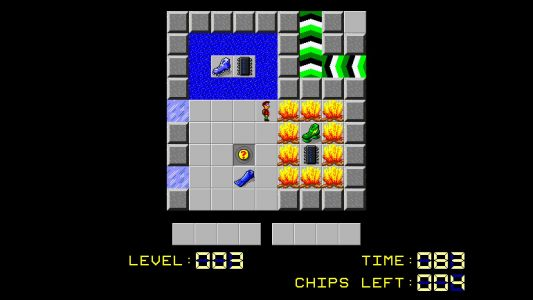 Chip's Challenge is free on Steam and nostalgia just hit me hard