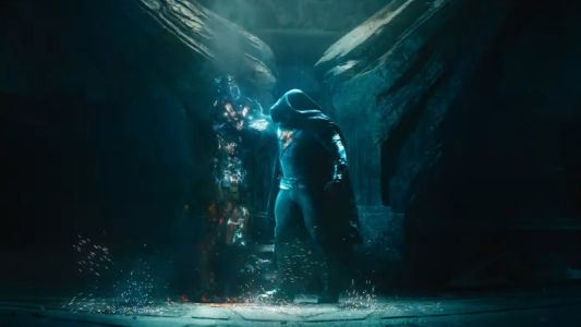 Black Adam Electrifies In This Debut Clip From Dwayne Johnson's Movie