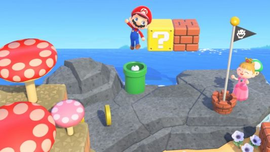 How Warp Pipes Will Work In Animal Crossing: New Horizons For Super Mario Event