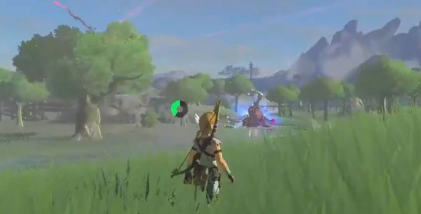 The Zelda: Breath of the Wild trick shot master is back to teach another class