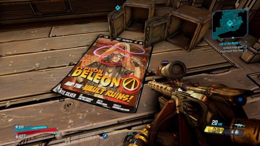Borderlands 3: Lair of the Harpy Cabaret Stage Puzzle Solution