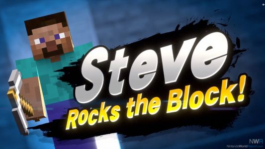Minecraft Steve Revealed As Eighth Super Smash Bros. Ultimate DLC Character