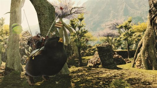 Final Fantasy XIV has an Amazon promotion for a free big ol' Chocobo mount