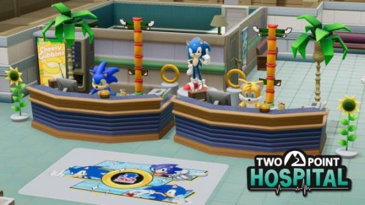 Sonic comes to Two Point Hospital alongside a free weekend for the wacky management sim