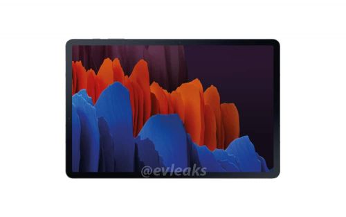 Galaxy Tab S7 Shows Its Design In Seemingly Official Render
