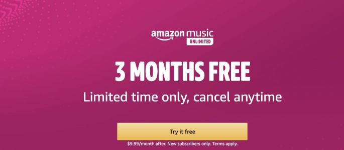 You Can Still Get 3 Months Of Amazon Music Unlimited For Free