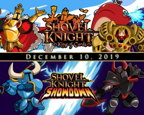 Shovel Knight: King of Cards, Showdown, and Treasure Trove Physical Edition Launches December 10