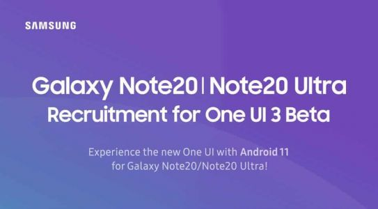 One UI 3.0 Beta Now Available For The Galaxy Note 20 Series