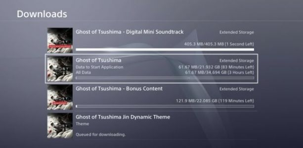 Preloading is Now Live for Ghost of Tsushima; Base Game Requires 34GB of Free Space