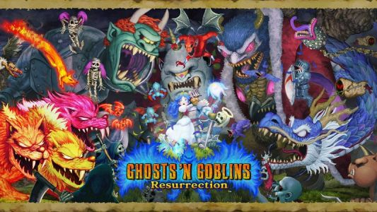 Ghosts 'n Goblins Resurrection is coming to Switch next February