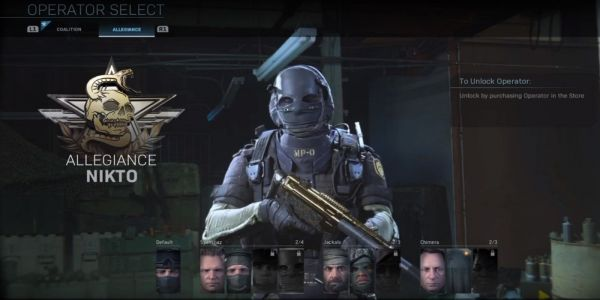 How to Unlock Nikto in Call of Duty: Modern Warfare   Game Rant