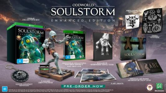 Oddworld: Soulstorm Enhanced Edition Launches in November for Xbox Series X|S, PS5, PS4, Xbox One, and PC