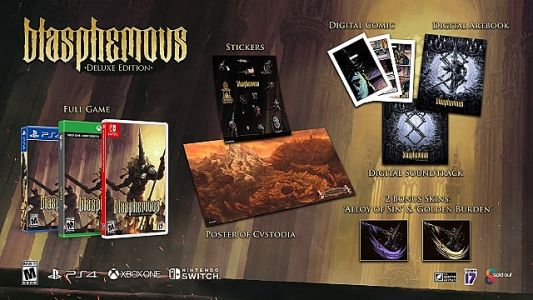 Blasphemous Physical Deluxe Edition Possesses PS4, Xbox One, and Switch