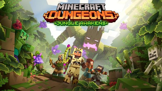 Minecraft Dungeons: Jungle Awakens DLC is Live