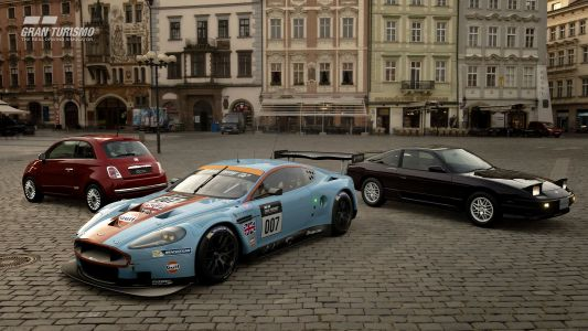 Gran Turismo Sport Adds 3 New Cars including the Aston Martin DBR9 GT1
