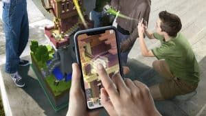 Microsoft Debuts Mobile AR game 'Minecraft Earth', Beta This Summer