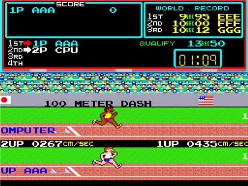 """The arcade classic """"Track & Field"""" arrives on Nintendo Switch and PS4 today"""