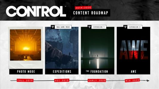 Control gets photo mode soon, paid expansions in 2020