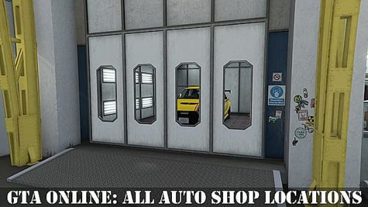 GTA Online: All Auto Shop Locations and How to Buy Them