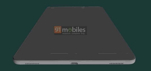 Samsung Galaxy Tab A 10.1 (2021) Design Showcased Via CAD Renders