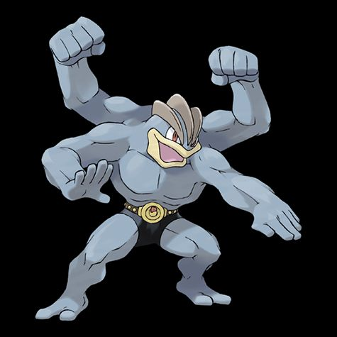 Pokémon 068 Machamp