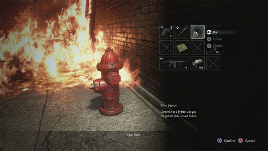 How To Put Out The Fire In The Alley In Resident Evil 3 Remake