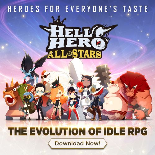 Hello Hero All Stars is the latest in the adorable casual RPG series