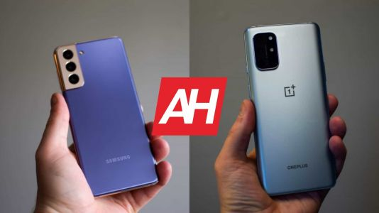Phone Comparisons: Samsung Galaxy S21 vs OnePlus 8T