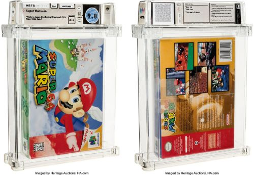 Sealed Copy of Super Mario 64 Sells For $1.56 Million at Auction