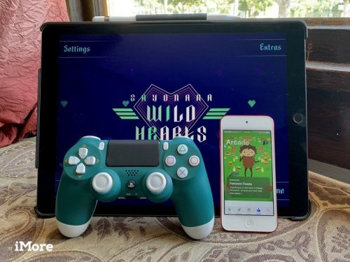 Apple Arcade just feels right with a PlayStation 4 DualShock 4 controller