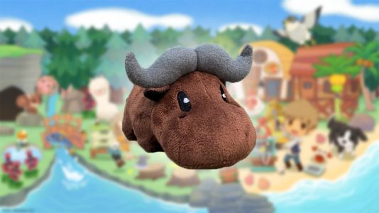 Get this adorable buffalo plush with the limited premium edition of Story of Seasons: Pioneers of Olive Town