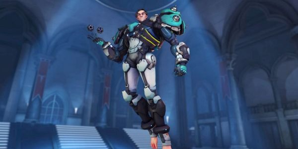 Overwatch Reveals Sigma Winter Skin for Christmas Event