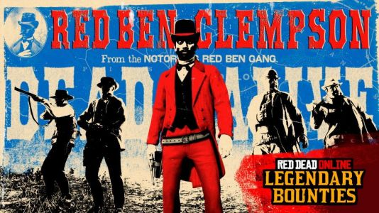 Legendary Bounty Red Ben Clempson Now in Red Dead Online