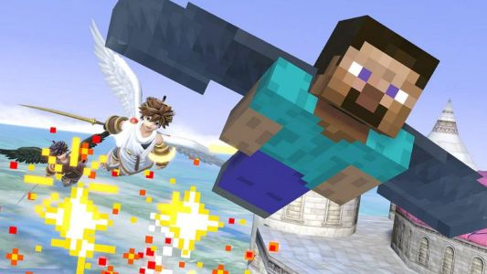 Super Smash Bros. Ultimate - Minecraft's Steve and Alex Now Available