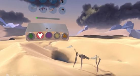 The sublime-looking Paper Beast reveals creative sandbox mode