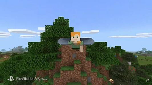 Minecraft VR Springs to Life on PlayStation 4