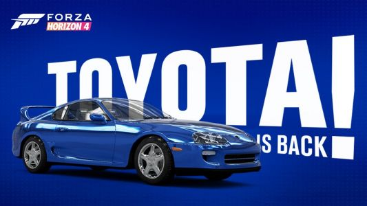 Toyota is back in Forza 'for years to come'