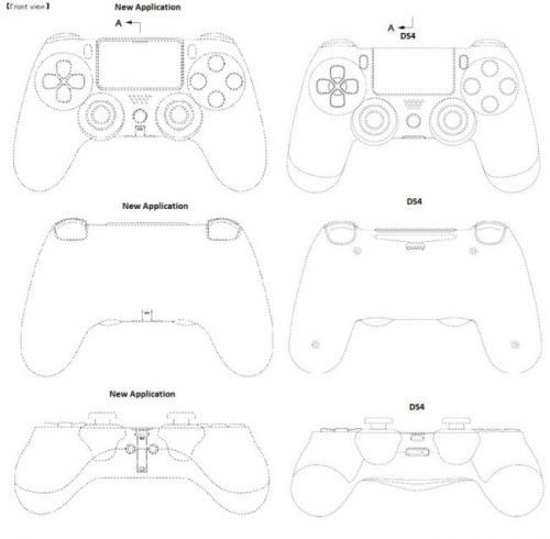 Patent Images Give Us a Look at the PlayStation 5 Controller, Some Changes From the DualShock 4
