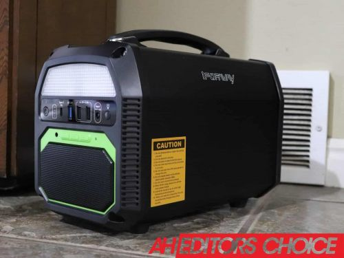IForway PS500N Power Station Review - Compact Power For When You Need It Most