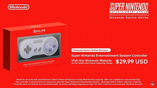Wireless SNES Controllers for Nintendo Switch Available Now - For Some