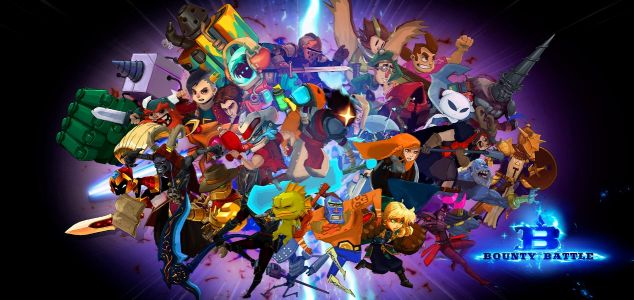 The indie game party fighter Bounty Battle releases next week