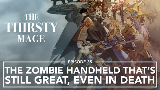The Zombie Handheld That's Still Great, Even In Death