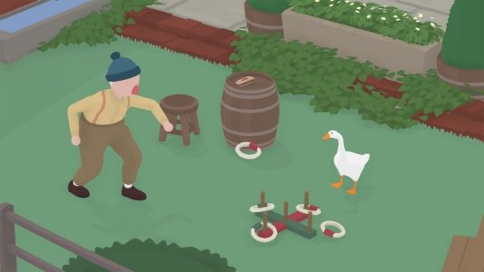 Untitled Goose Game Coming to PS4 Next Week