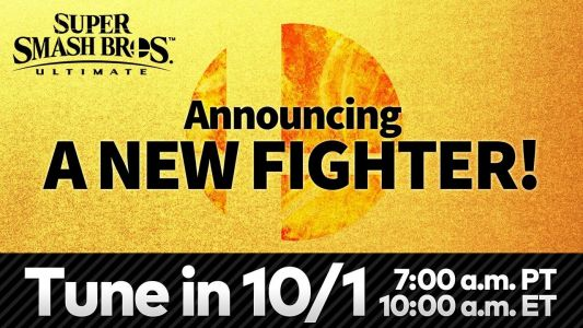 Nintendo is revealing the next Smash Ultimate fighter soon, watch it here