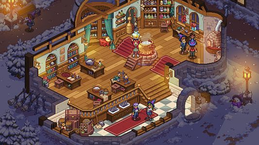 Magic Life-Sim Witchbrook Gets Charming Art Redesign
