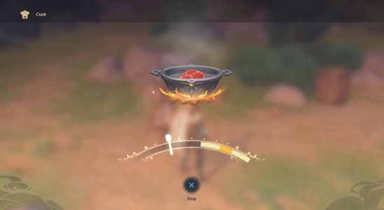 Genshin Impact Cooking Guide - How to process ingredients
