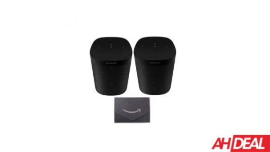 Two Sonos One SL Speakers + $10 Amazon Gift Card For $249 - Amazon Cyber Monday 2019 Deals