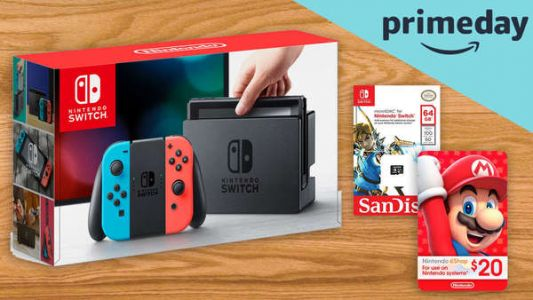 Amazon Prime Day's top-searched item was the Switch