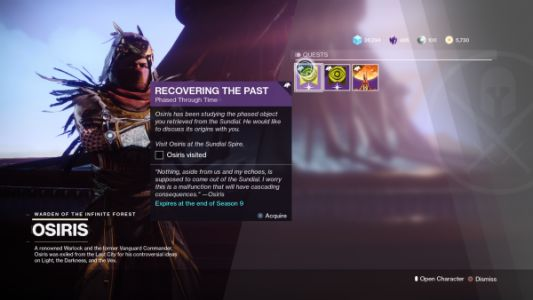 Destiny 2: Season of Dawn - How to complete Recovering the Past and get Saint-14's Perfect Paradox shotgun