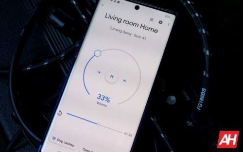 New Home Media Cast Control UI Steps Away From Boring White Design